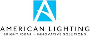 American Lighting logo Bright Ideas, Innovative Solutions