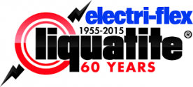 electri-flex liquatite logo 1955-2015 60 years