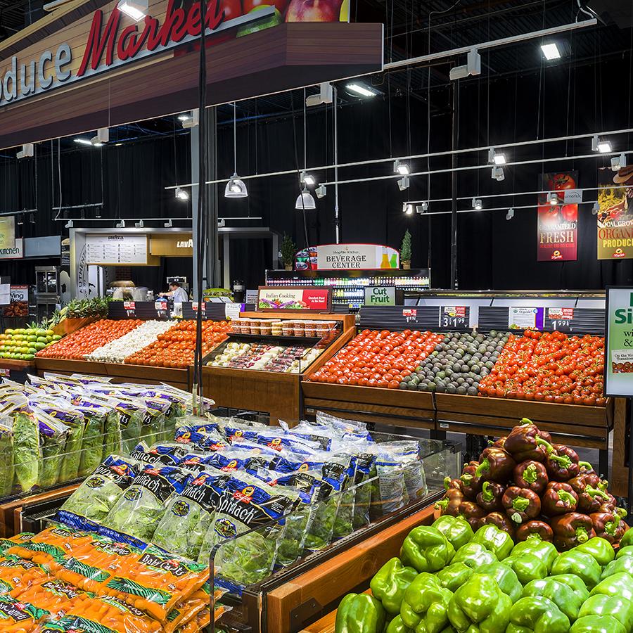 Supermarket Lighting Inspiration