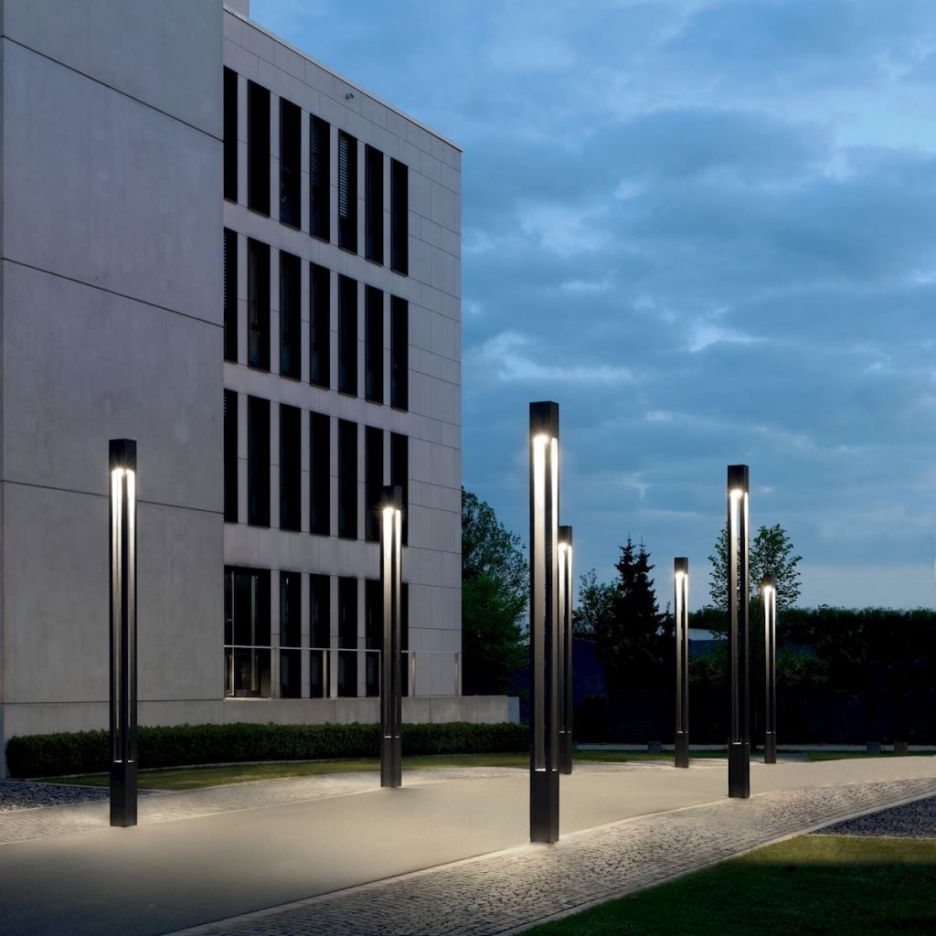 Bega – Commercial Exterior Outdoor Lighting  - Building element Symmetric