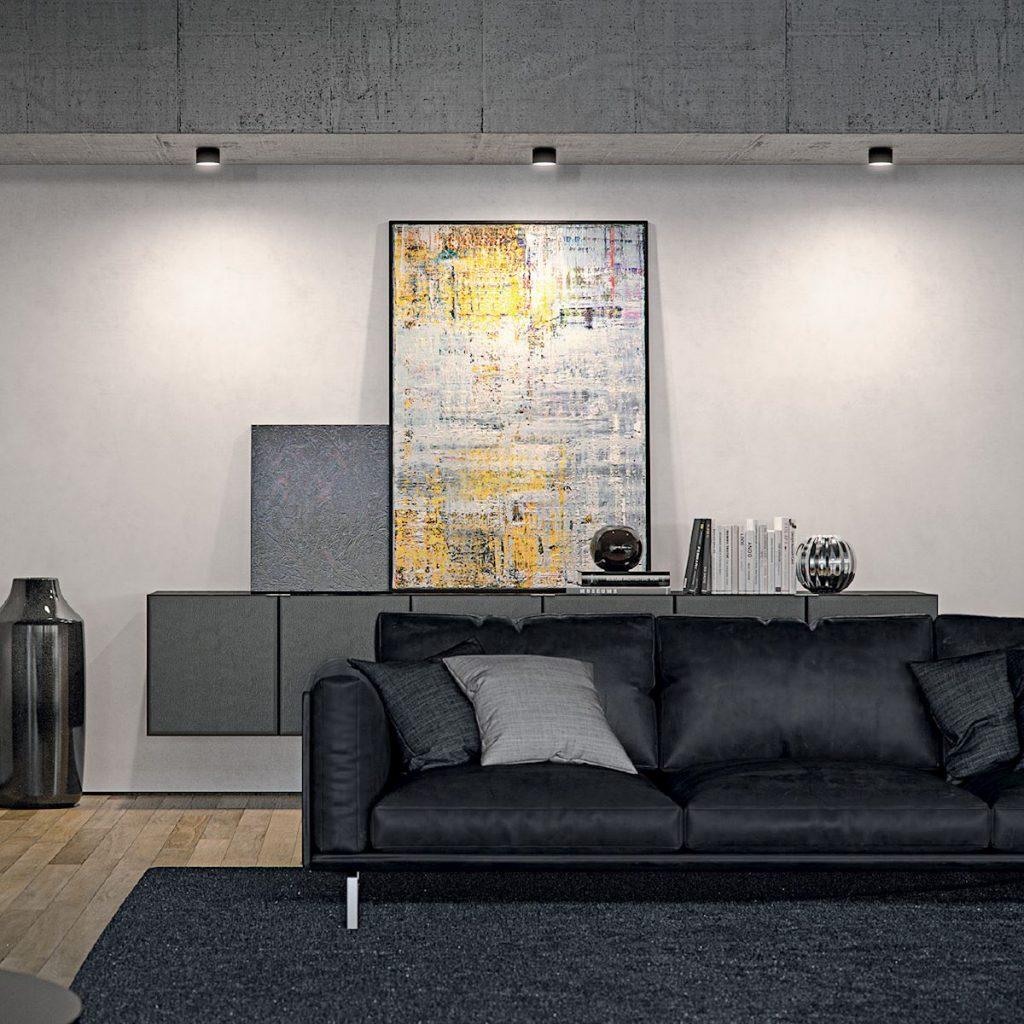 Bega – Residential Interior Semi-recessed downlight