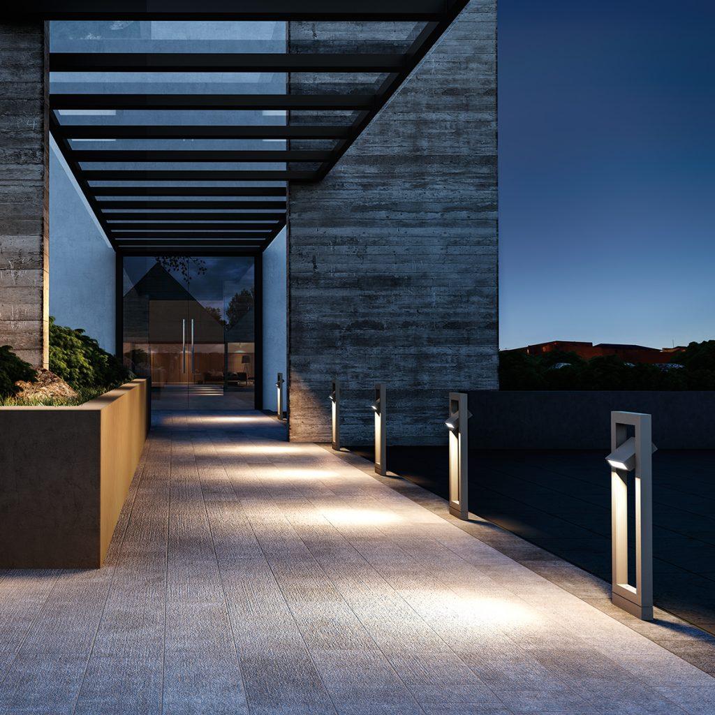 Commercial Exterior Outdoor Lighting Inspiration