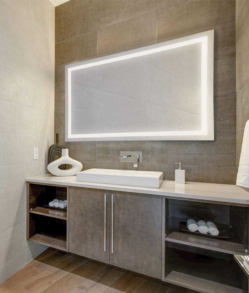 Eurofase- Mirrors Rectangular, Edge-lit , Touch Sensor Switch