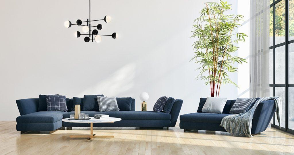 """Eurofase- Residential Interior 50"""" ROUND CHANDELIER"""