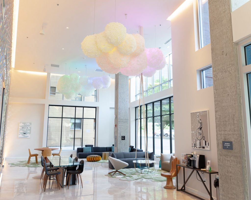 Graypants - Commercial Interior - RGB Color Changing Cloud