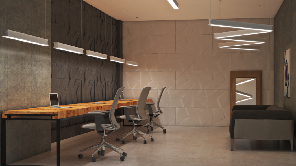 Lux Illuminaire Commercial Interior - Lux Pendant Direct