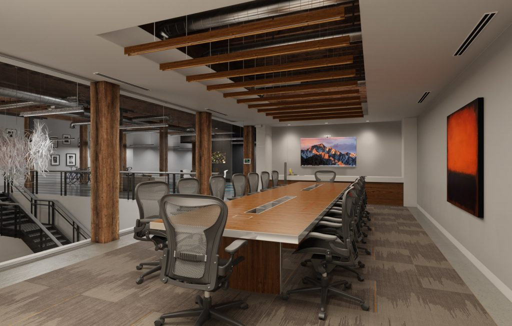 "Mojo Illumination - Commercial Interior 7 - Wood Finish Linear Pendant ""Woody"""