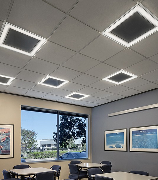 PAL - Commercial Interior - Microquad Recessed Grid